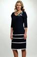 Elegantní dámské společenské šaty, 42 - 50