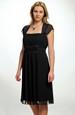 Černé společenské šaty XL, XXL