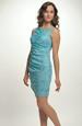 Řasené krátké šaty