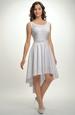 Svatební bílé šaty na široká ramínka