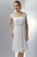 Svatební krátké šaty do sedýlka