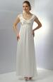 Elegantní svatební šaty do skládaného sedýlka