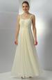Dlouhé raminkové svatební šaty