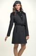 Zimní kabát - dámský v tříčtvrteční délce