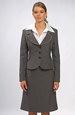 Elegantní dámský kostýmek vhodný do práce