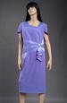 Společenské šaty zdobené fižím