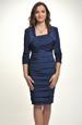 Komplet - pouzdrové šaty s bolerkem