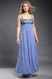 Elastické empírové šaty