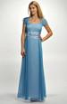 Plesové, ale i svatební šaty zdobené výšivkou, vel. 52
