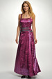 Taftové plesové šaty XXL