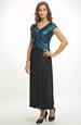 Plesové šaty s řasením