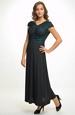 Elegantní večerní šaty s řasením