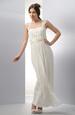 Svatební šaty s řasením v antickém stylu