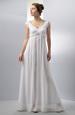 Elegantní dlouhé šaty se zajímavým řasením