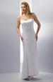 Dlouhé elegantní svatební šaty