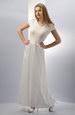bílé šaty kombinované