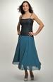 Šaty s delším živůtkem a kolovou sukní