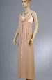 Elegantní dlouhé šaty s řasením na sedle