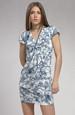 Krátké tunikové šaty s rukávky