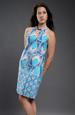Šaty letní s velkým vzorem