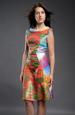 Barevné společenské šaty