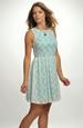 Krátké dívčí společenské šaty