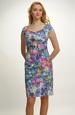 Květované společenské šaty