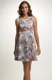 Dívčí krátké šaty na širší ramínka