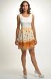 Mini šaty s květem