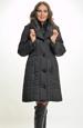 Mladistvý černý kabát