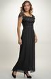 Elegantní večerní šaty z krajky