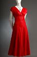 Šaty v lady délce