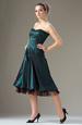 Korzetové šaty s balónovou sukní