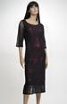 Elegantní pouzdrové šaty pro plnoštíhlé