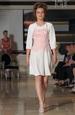 Krátké dívčí šaty k maturitě