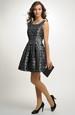 Šaty s bohatou sukní na tanec