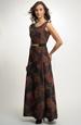 Dlouhé plesové taftové šaty