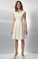 Šaty s rozšířenou bohatou sukní