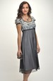 Empírové šaty do sedýlka