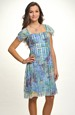 Krátké společenské šaty na širší ramínka za krk