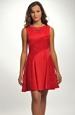 Červené dívčí šaty do tanečních 2015