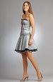 Dívčí minišaty s bohatou sukní
