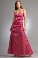 Luxusní model šatů s řasením
