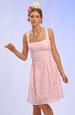 Krátké šaty ve stylu 50. let