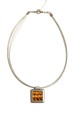 Zajímavý náhrdelník lanko