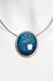 Tyrkysový náhrdelník lanko