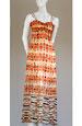 Hedvábné letní šaty na ramínka