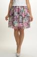 Krátká sukně z organzy