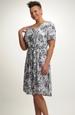 Šaty letní s jemným vzorem