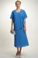Krátké šaty s řaseným sedlem na bok